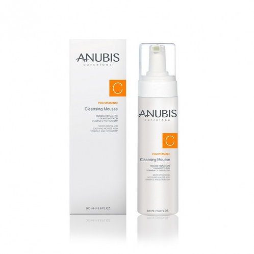 Очищающий витаминизирующий мусс Polivitaminic, 200 мл (Anubis, Испания)