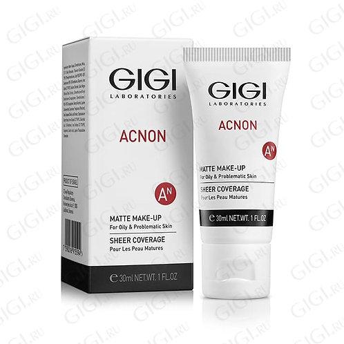 Крем-тон матирующий GIGI Acnon Matte Make-Up, 30 мл (GIGI, Израиль)