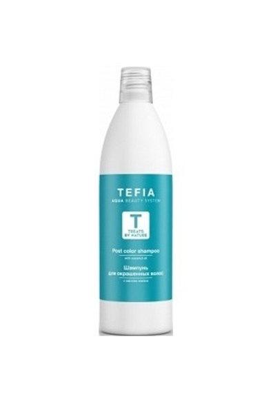 Шампунь для окрашенных волос с маслом кокоса, 1000 мл (Tefia, Италия)