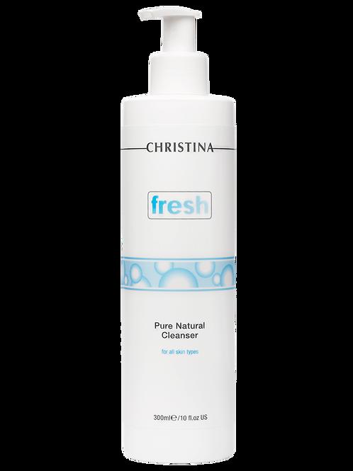 Натуральный очищающий гель для всех типов кожи 300 мл(CHRISTINA,Израиль)
