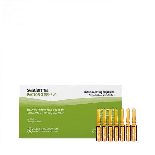 Биостимулирующие ампулы FACTOR G RENEW, 7 шт по 2 мл (Sesderma, Испания)