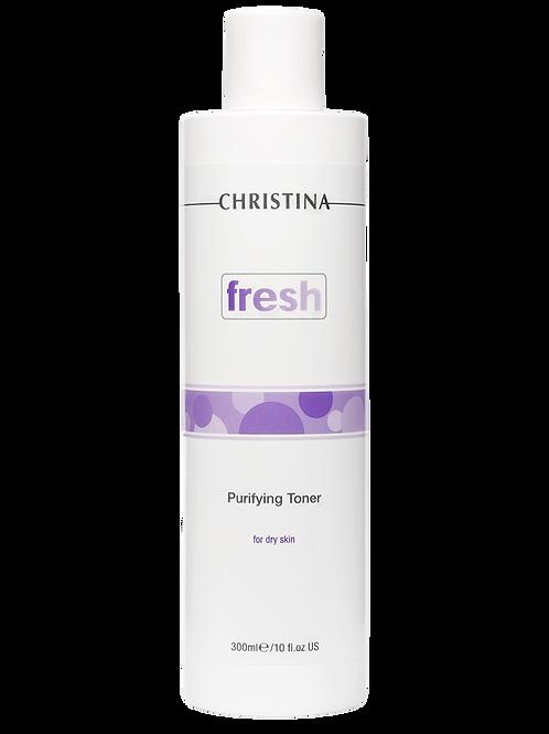 Очищающий тоник для сухой и нормальной кожи, 300 мл (Christina,Израиль)