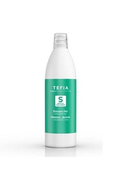 Шампунь-филлер с гиалуроновой кислотой, 1000 мл (Tefia, Италия)