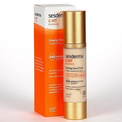 «Сияющий» флюид для лица с витамином С, 50 мл (Sesderma, Испания)