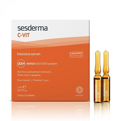 Интенсивная сыворотка 12% C-VIT, 5 шт по 2 мл (Sesderma, Испания))