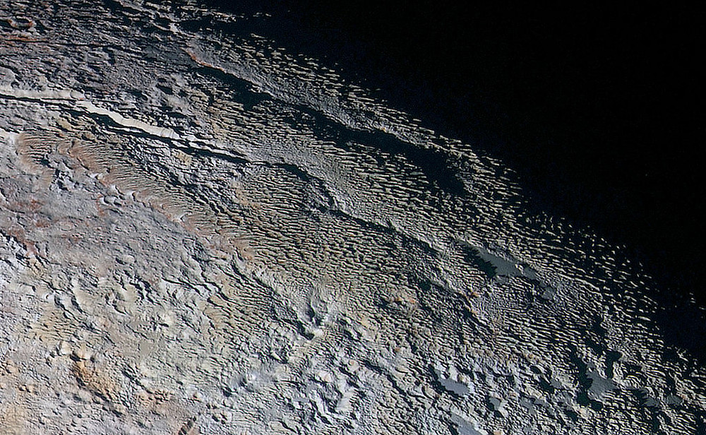 nasa image of the surface of pluto