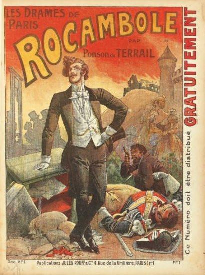 great rocambole novel cover origin of rocambolesque