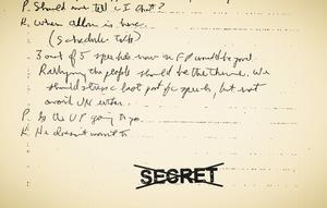 top secret document released to public