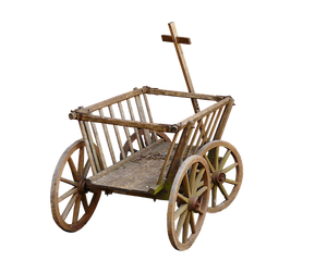 artist's charette trolley
