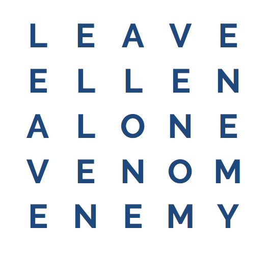 perfect english word square