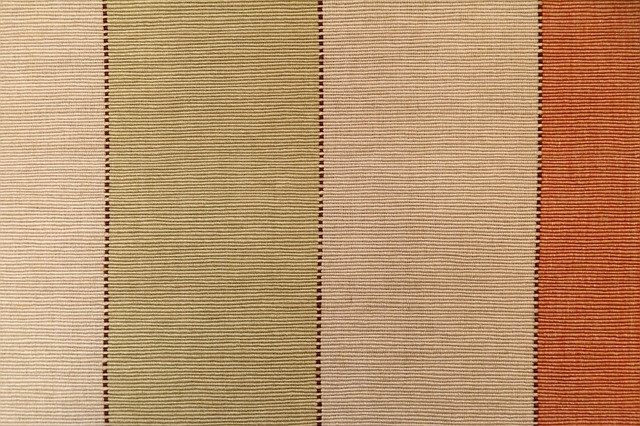 Beige Undyed linen fabric, the origin of the word greige
