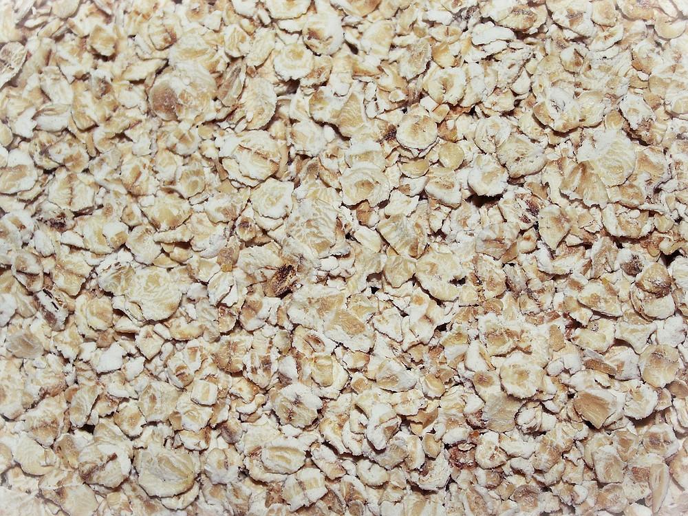 porridge oatmeal close up