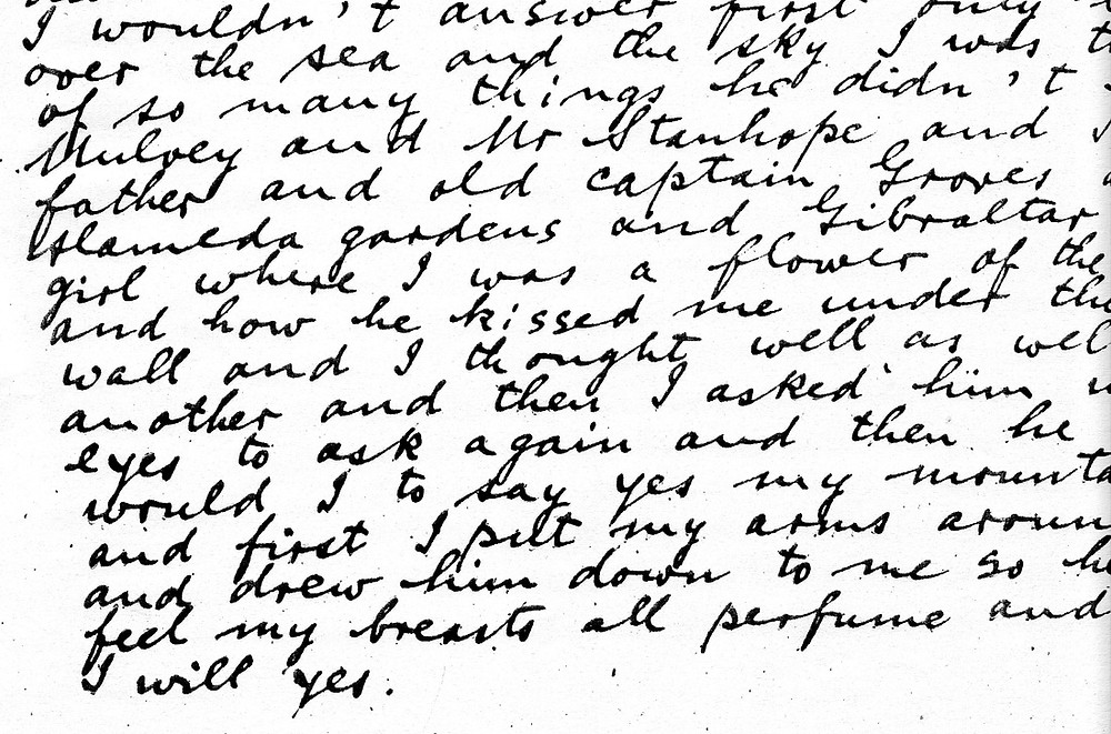 An extract from james joyce finnegan's wake