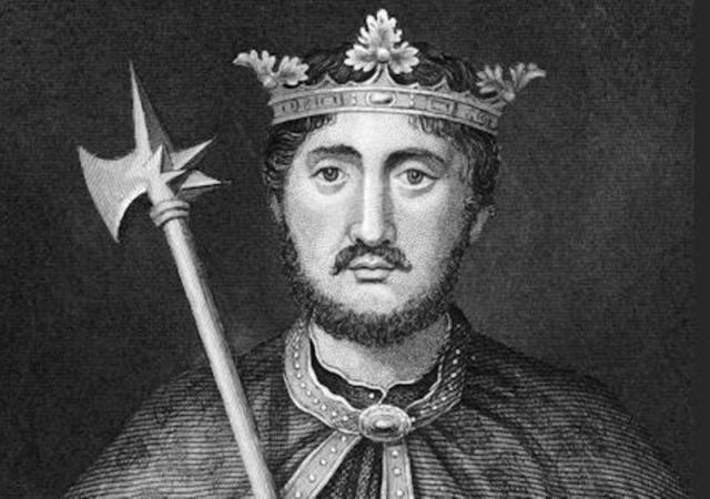 portrait of english king richard i