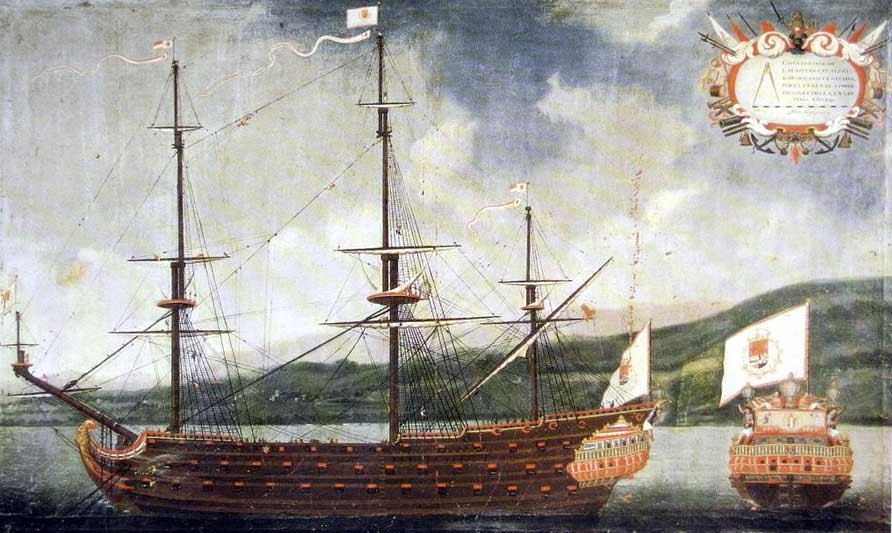 the cacafuego galleon