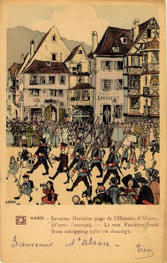 The zabern affair von reuter's troops march on the town