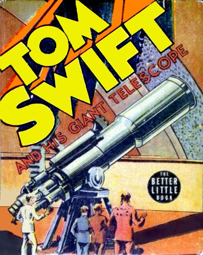 tom swift and his giant telescope cover