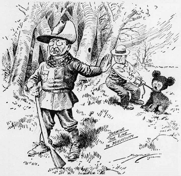 "Roosevelt ""Drawing the line in Mississippi"", The Washington Post 16 November 1902"