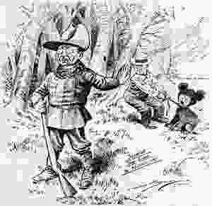 """Roosevelt """"Drawing the line in Mississippi"""", The Washington Post 16 November 1902"""