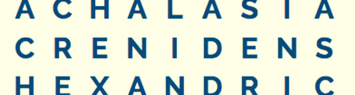 excerpt from the largest word square in the English language