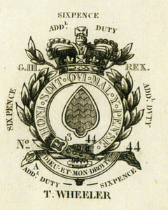 18th century duty ace of spades