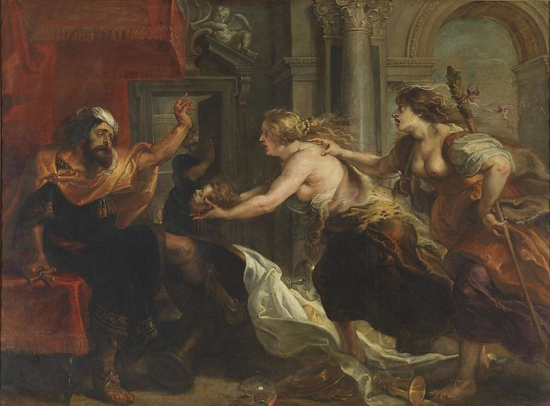 philomel and king tereus painting