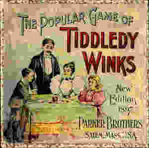 cover for early 1900s game of tiddleywinks