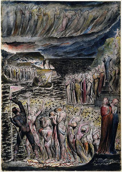 Blake's Vestibule of Hell (c. 1824) (Image credit: Public domain)