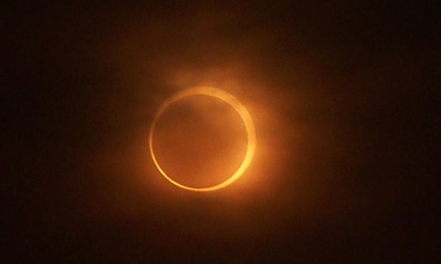 image of the 2015 solar eclipse