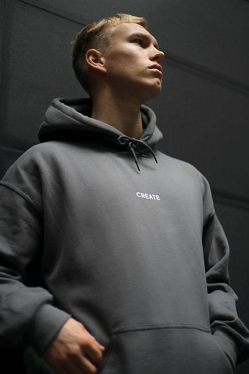 Create Hoodie // Charcoal