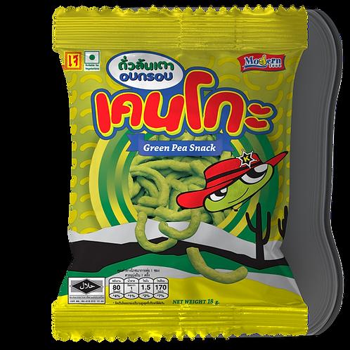 Kenko green pea snack original flavoured 18 grams