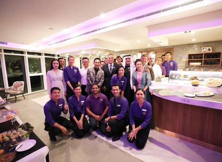 DESERT LOTUS Grand Opening in Abu Dhabi