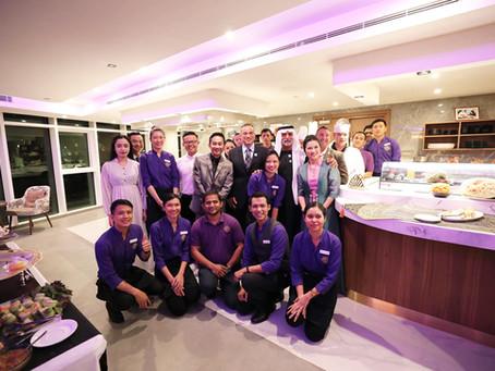 DESERT LOTUS Grand Opening in Abu Dhabi