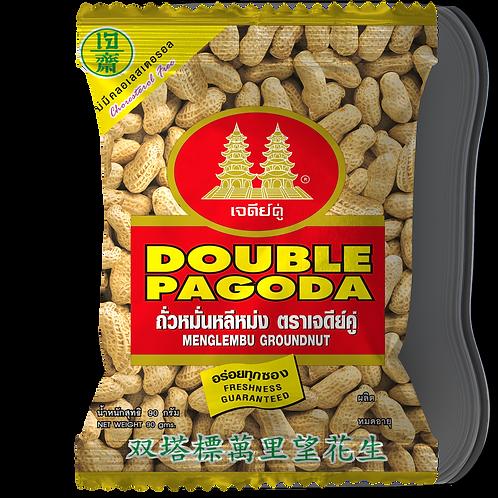 Double Pagoda roasted peanut in shell 90 grams
