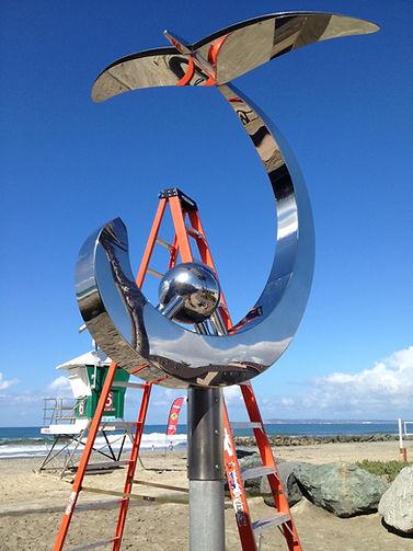 Sculpture Maintenance.JPG