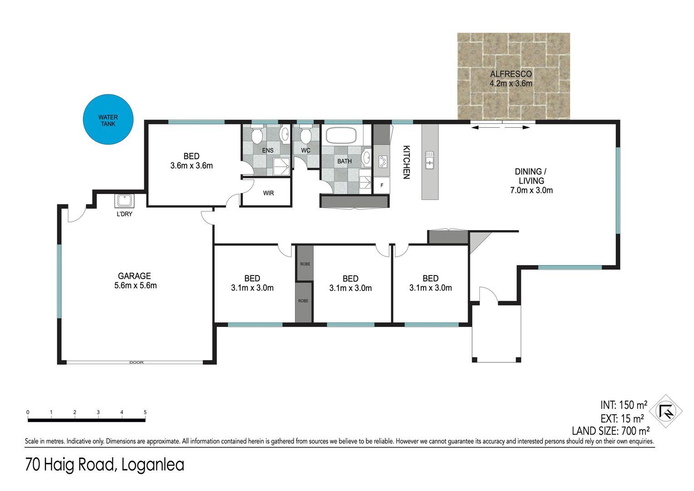 Floor plan - 70 Haig Road