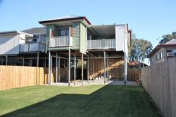 Rear yard/ property