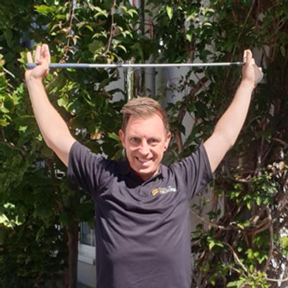 4+1! Gesund und motiviert - vitale Session mit Rory Fisher