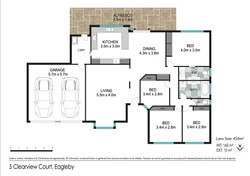 Floor Plan - 5 Clearview Court, Eagleby