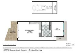 Floor plan - 10703/30 Duncan St, West End