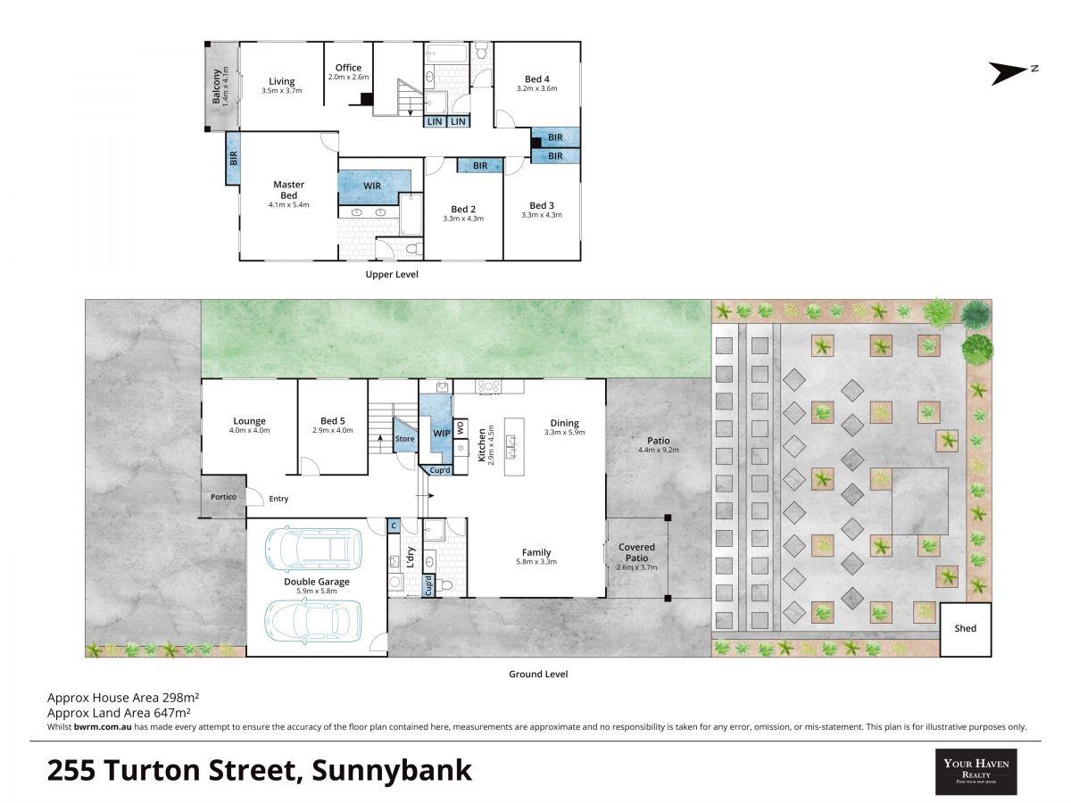 Floor plan - 255 Turton St, Sunnybank