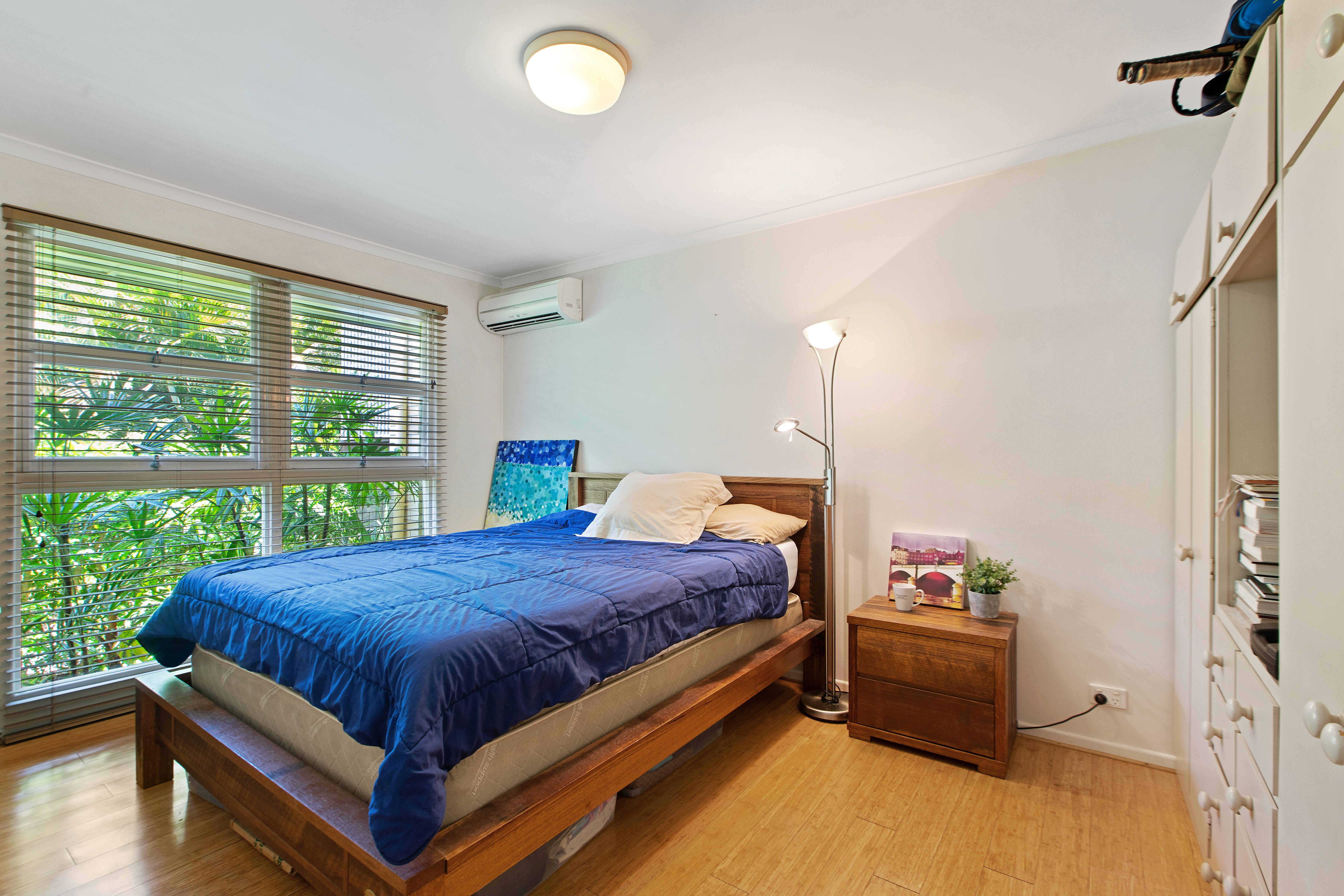 Bedroom with aircon