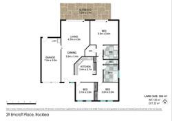 Floor plan - 29 Erncroft Place, Rocklea