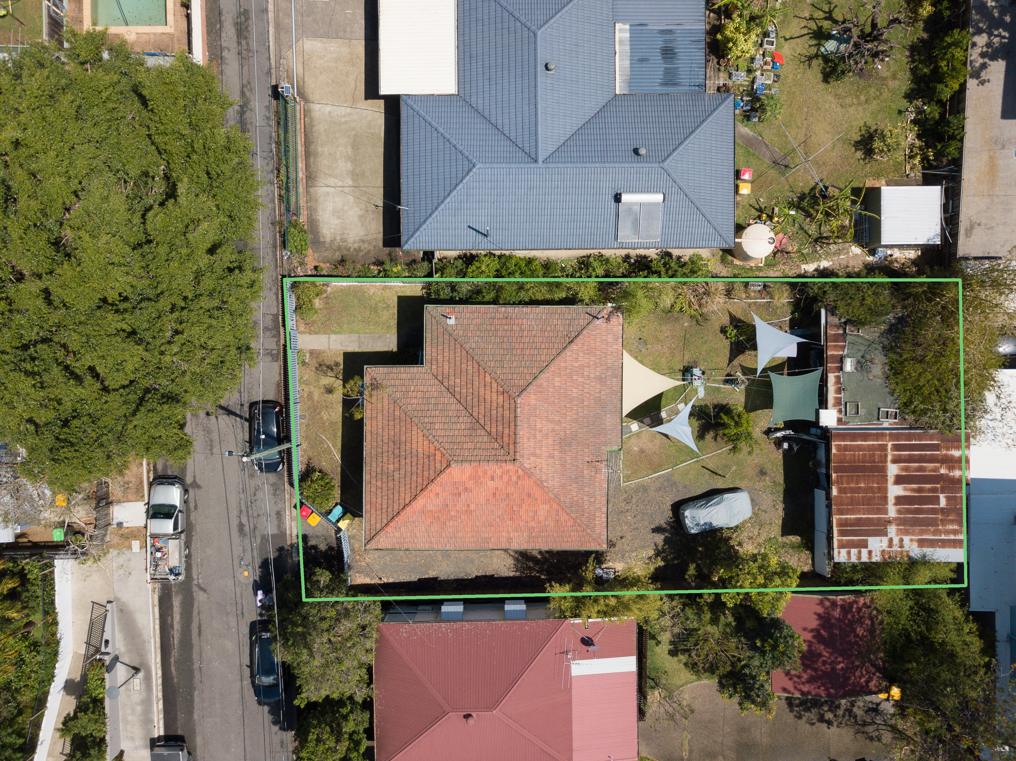 Aerial view - Little Jane Street