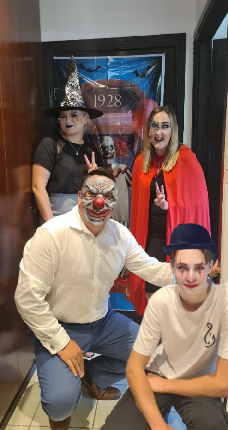 Nick, Cam, Karissa & Rachael - Halloween 2020