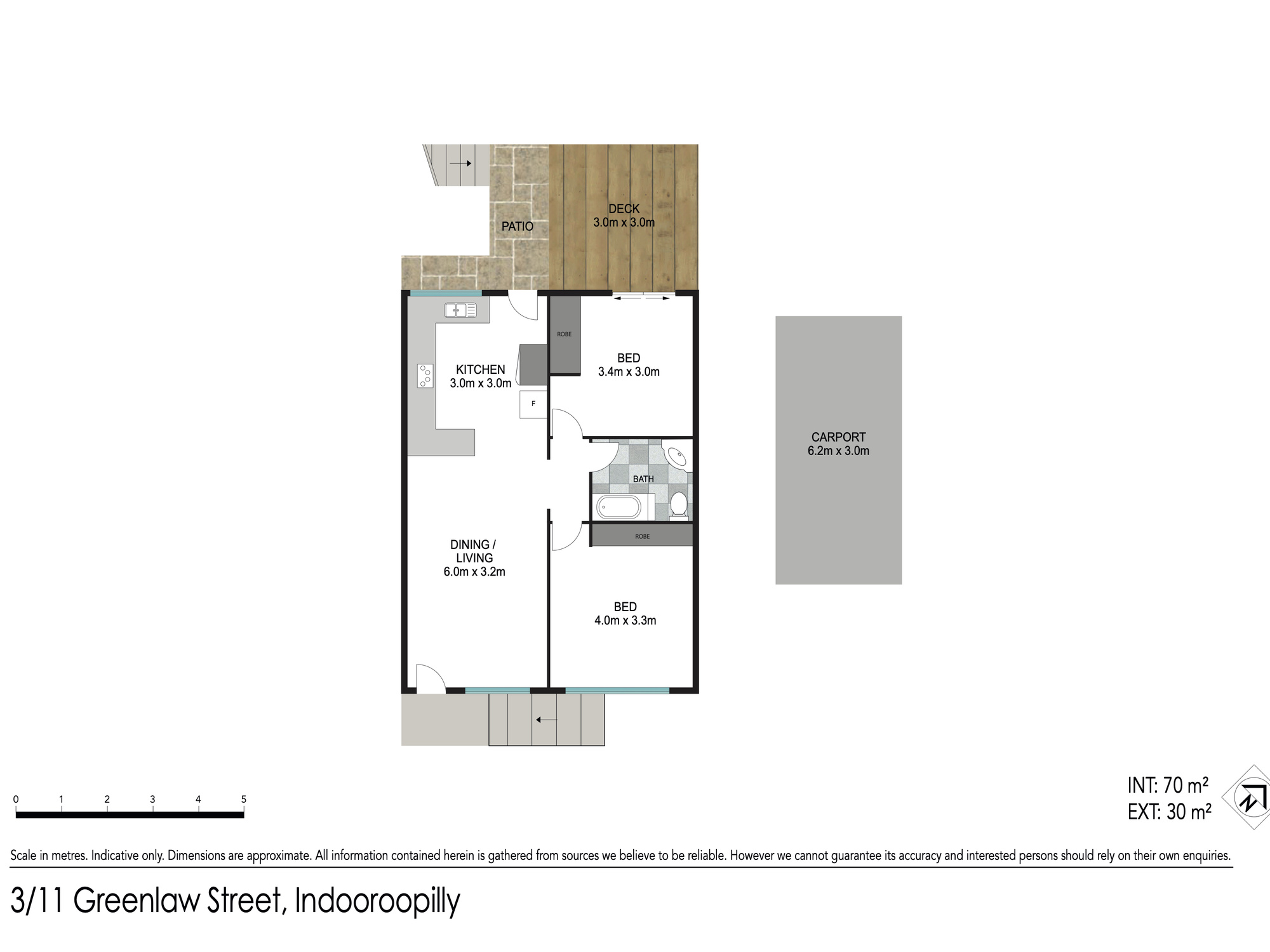 Floor plan - 3/11 Greenlaw St