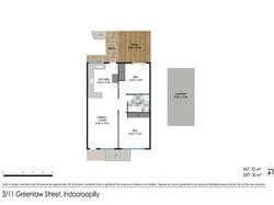Floor plan - 3/11 Greenlaw St