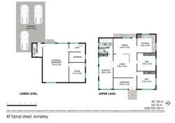 Floor plan - 49 Tamar St, Annerley