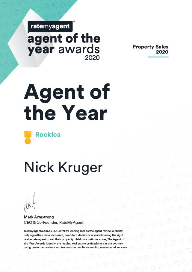 Agent of the Year 2020