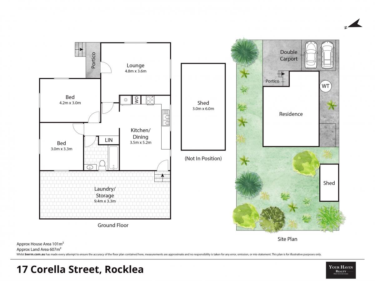 Floor plan 17 Corella St